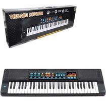 Teclado Piano Musical Infantil Com Microfone 54 Teclas Dm Toys -