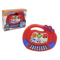 Teclado Piano Musical Infantil Educativo Hero Squad Wellkids -