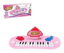 Teclado Piano Musical Infantil Meu Ritmo Colors Com Luz A Pilha Na Caixa Wellkids - Wellmix