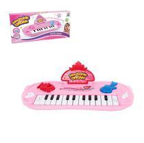 Teclado piano musical infantil meu ritmo - Wellmix