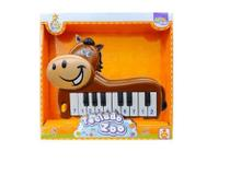 Teclado piano musical infantil zoo bichinhos - Wellmix