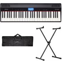 Teclado Roland GO PIANO GO61P + Kit -