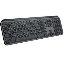 Teclado Sem Fio Logitech MX Keys, Bluetooth, Tecnologia Flow, US, Cinza - 920-009297 -