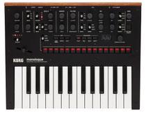 Teclado sintetizador analogico korg mod. monologue-bk -