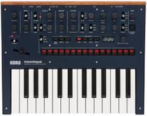 Teclado sintetizador analogico korg mod. monologue-bl -