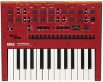 Teclado sintetizador analogico korg mod. monologue-rd -