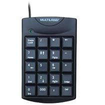 Teclado usb numerico preto tc229 / un / multilaser -