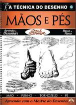 Tecnica do desenho, a - maos e pes - Editora criativo