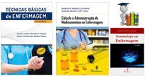 Técnicas Básicas + Cálculo E Adm Medicamentos + Terminologia em Enfermagem - Editora martinari