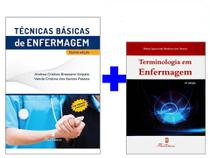 Técnicas Básicas Enfermagem 5 Ed. 2018 + Terminologia Enfermagem - Editora martinari