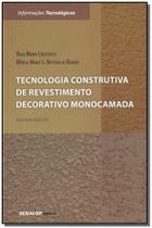 Tecnologia Construtiva  de Revest. D. Monocamarada - Senai - sp