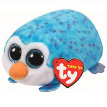 Teeny Tys Pelúcias Mini Beanie Boos Pinguim Ty Azul Gus Dtc -