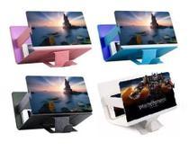 Tela 3D de Aumento Para Celular Universal Suporte Ampliadora Zoom com Capa - F1