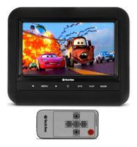 Tela 7 Pol Portatil Monitor Encosto Veicular Digital Escravo - Tech One