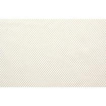 Tela Antiderrapante Emborrachada 0,60m x 1,00m Branco Cru - Kapazi