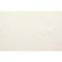 Tela Antiderrapante Emborrachada 1,0 x 1,20m Branco Cru - Kapazi
