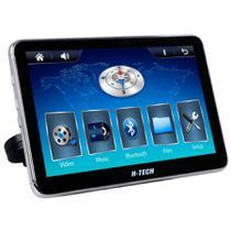 Tela de encosto de cabeça acoplável H-Tech ET800 Touch 8 pol USB SD Aux BT Espelhamento Android -