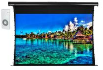 Tela de Projeção Elétrica Tensionada Tahiti 16:9 WScreen 133 Polegadas 2,94 m x 1,66 m TTTEP-011 - Telas tahiti
