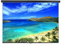 Tela de Projeção Retrátil Standard Tahiti 4:3 Vídeo 72 Polegadas 1,46 m x 1,10 m TTRS-001 - Telas tahiti