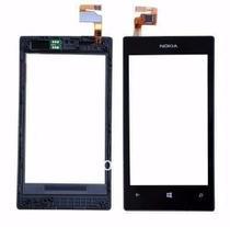 Tela de Vidro Touch Nokia Lumia N250 - Preto -