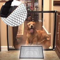 Tela Grade De Porta Para Cachorro Pet Caes Cao Bebe Gato (BSL-PET-4) - Braslu