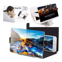 Tela Lupa Amplificadora de Imagem 3D Dobravel Celular Alta Definição - F1