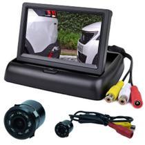 Tela Monitor Veicular 4.3 Vídeo Lcd+ Camera Ré* - Import agf
