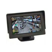 Tela Monitor Veicular Automotivo Camera Re Dvd 4.3 Video Lcd - Ideal