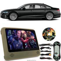 Tela Portátil Encosto De Cabeça DVD Monitor C/ Tela 9 Pol usb Sd AUDI A8 Oferta - Tech One