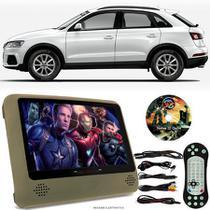 Tela Portátil Encosto De Cabeça DVD Monitor C/ Tela 9 Pol usb Sd AUDI Q3 Oferta - Tech One