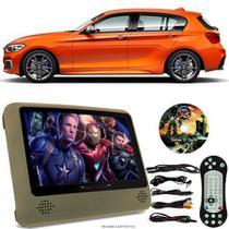 Tela Portátil Encosto De Cabeça DVD Monitor C/ Tela 9 Pol usb Sd BMW 120i SPORT Oferta - Tech One