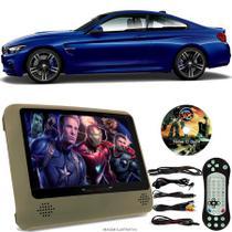 Tela Portátil Encosto De Cabeça DVD Monitor C/ Tela 9 Pol usb Sd BMW M4 COUPE Oferta - Tech One