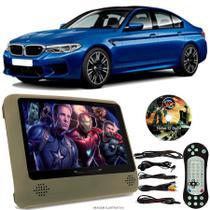Tela Portátil Encosto De Cabeça DVD Monitor C/ Tela 9 Pol usb Sd BMW M5 Oferta - Tech One