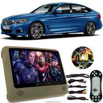 Tela Portátil Encosto De Cabeça DVD Monitor C/ Tela 9 Pol usb Sd BMW SERIE 3 Oferta - Tech One