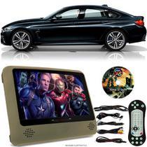 Tela Portátil Encosto De Cabeça DVD Monitor C/ Tela 9 Pol usb Sd BMW SERIE 4 Oferta - Tech One
