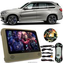 Tela Portátil Encosto De Cabeça DVD Monitor C/ Tela 9 Pol usb Sd BMW X5 M Oferta - Tech One