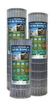 TELA SOLDADA DE SEGURANÇA ZN3 FIO 1,90MM 1,2Mx25M 100X50MM - MORLAN -