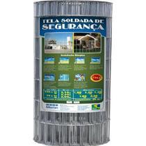 Tela Soldada para Alambrado Galvanizado Morlan 1,90 mm, 1,00 x 25 metros -
