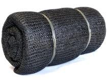 Tela sombreamento 50% 6 x 20 metros toldo sombrite preta - Solpack