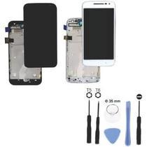 Tela Touch Frontal Moto G4 Play Xt1600 Xt1603 Preto Com Aro -