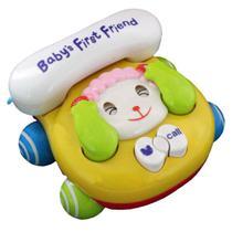 Telefone Baby Brincar (Ovelha) - Bbr Toys -