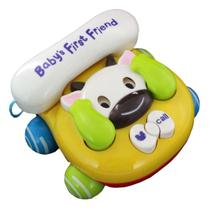 Telefone Baby Brincar (Vaca) - Bbr Toys -
