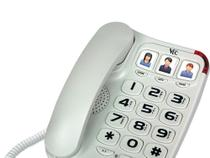 Telefone Big Number Vec 881 V2 - Branco