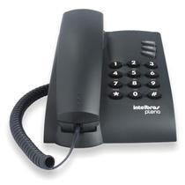 Telefone C/ Fio Pleno sem Chave de Bloqueio Preto- INTELBRAS -