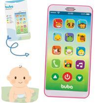 Telefone celular brinquedo baby fone - rosa (estoque) - BUBA