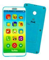 Telefone Celular Brinquedo Baby Phone - Azul - buba -