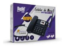 Telefone celular de mesa bdf-12 - bedin 3g wi-fi -