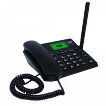Telefone Celular de Mesa Wi-fi 4G BDF-14 Preto BEDINSAT -