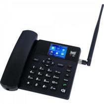 Telefone Celular de Mesa Wifi 3G BDF-12 Preto BEDINSAT -