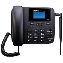 Telefone Celular Fixo Intelbras CF 42402 GSM Dual Chip - Preto -